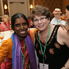 Ninth Triennial Gathering | The Rev. Veronica Angela Suthuri poses with Lois Bylund of Moorhead, Minn., whose SWO (Northwestern Minnesota Synodical Women's Organization) sponsored her as a guest.