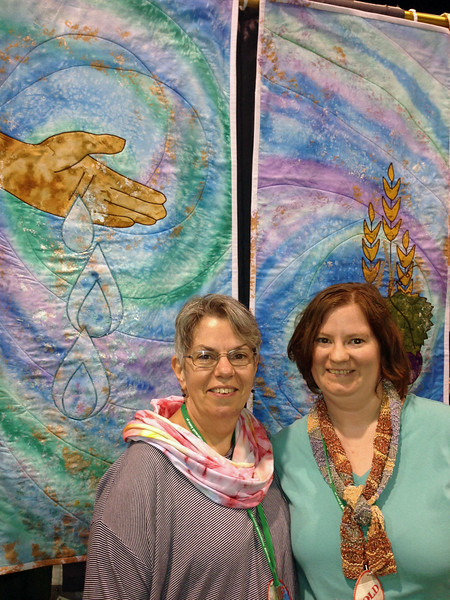 Norma, left, and Emily Colman, a mother and daughter creative team.