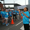 Ninth Triennial Gathering | Valora Starr, Women of the ELCA staff welcomes participants to the Run, Walk and Roll