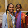 Ninth Triennial Gathering | Val Starr, left, director of discipleship for Women of the ELCA, and Veronica Angela Sathuri of Andhra Evangelical Lutheran Church, India