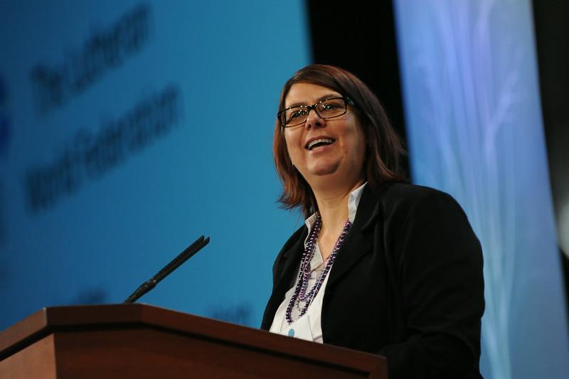 Ninth Triennial Gathering   Elaine Neuenfeldt, Lutheran World Federation