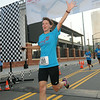 Ninth Triennial Gathering | Lisa Nordman, Rochester, MN, Hosanna Lutheran, finishes second at the Run, Walk and Roll.