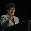 Ninth Triennial Convention | The Rev. Elizabeth Eaton, presiding bishop of the Evangelical Lutheran Church in America, presented the State of the ELCA address and ended with a question-and answer-session.
