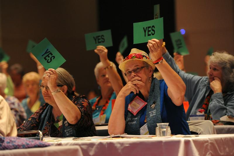 Ninth Triennial Convention | Voting