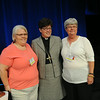 Ninth Triennial Convention | Delegates greet ELCA presiding bishop Elizabeth Eaton. JV