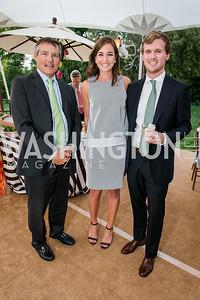 Paul Veith, Caitlin Phillips, Jonathan Gossens. Photo by Alfredo Flores. Tudor Place Garden Party. Tudor Place. May 20, 2015