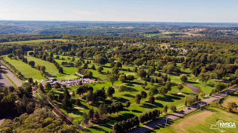Aerial View of Tuscarora Golf Club