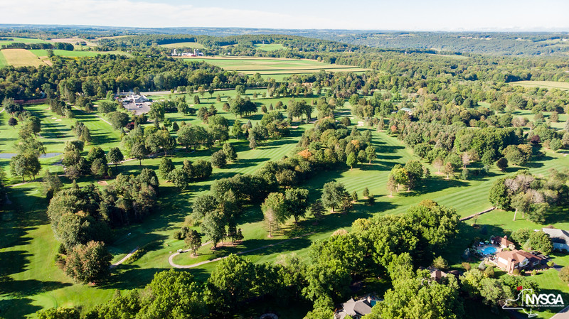 Aerial View of Tuscarora Behind #13 Green & #4 Green