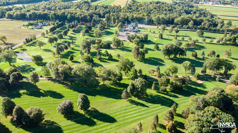 Aerial View of Tuscarora Over #13 Fairway