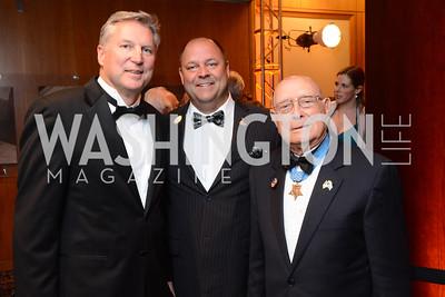 Steve Beck, Brent Casey, Woody Williams