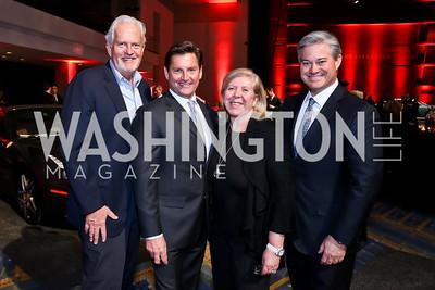 Jack Davies, Joe Ruzzo, Leah Gansler, Mark Lowham. Photo by Tony Powell. VIP Exotic Car & Luxury Lifestyle Reception. Convention Center. January 22, 2015