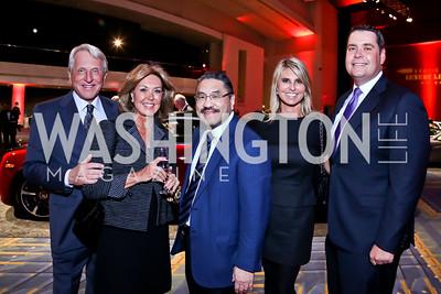 Tom and Alice Blair, Bob Hisaoka, Jennifer Signora, Jimmy Jones. Photo by Tony Powell. VIP Exotic Car & Luxury Lifestyle Reception. Convention Center. January 22, 2015