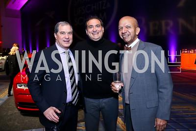 Jim Abdo, Joe Galli, Tony Williams. Photo by Tony Powell. VIP Exotic Car & Luxury Lifestyle Reception. Convention Center. January 22, 2015