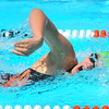 Lamarlins swimmer Savannah Tice competes in the Girls Open 100 Yard Freestyle during the Valley Championships held at the Lamar Swimming Pool over the weekend.