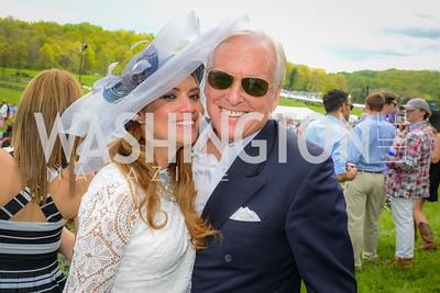 Gloria D'Molina, John Saylor, 90th Annual Virginia Gold Cup, Saturday, May 2, 2015, photo by Ben Droz.
