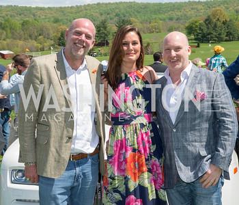 Freddie Wyatt, Wendy Broome, Brendan Miller, 90th Annual Virginia Gold Cup, Saturday, May 2, 2015, photo by Ben Droz.