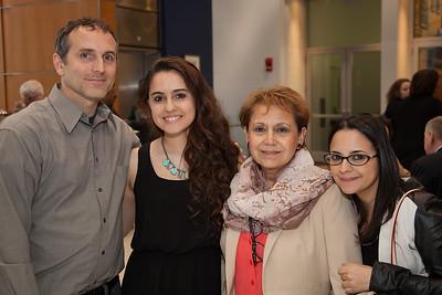 Bill Chedester, Shara Allman, Patricia Torres, Claudia Arango