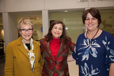 Donna Woolf, Tara Sonenshine, Mary Ellsberg