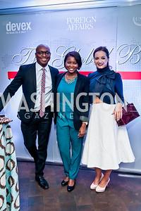 Darren Sands, Jummy Olabanji, Fran Holuba. Photo by Tony Powell. The Global Beat. UN Foundation. April 23, 2015