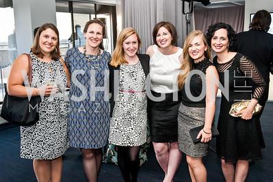 Devex's Jamie Bay Nishi, Mandy McAnally, Margaret Richardson, Jenni Cardamone, Erin Houston, and Kate Warren. Photo by Tony Powell. The Global Beat. UN Foundation. April 23, 2015