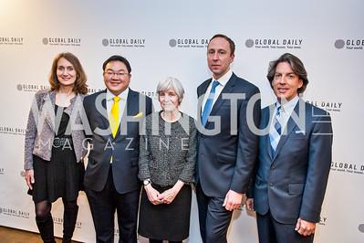 Elizabeth Cousens, Jho Low, Deborah Seward, Nicolas Bellet, Rick Parnell. Photo by Tony Powell. The Global Beat. UN Foundation. April 23, 2015