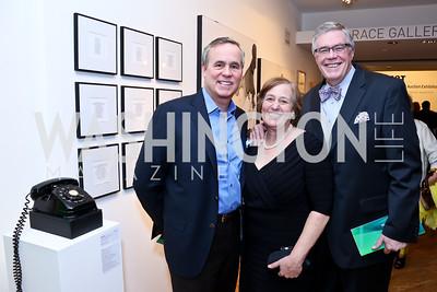 Matt McCormick, Jan and Bob Stout. Photo by Tony Powell. 2015 WPA Gala. Artisphere. March 7, 2015