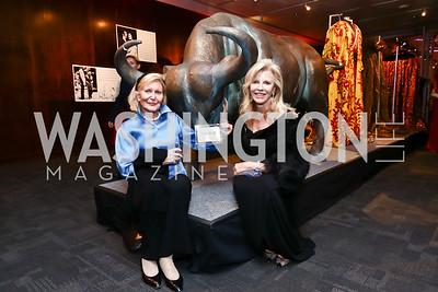 "Evelyn DiBona, Jane Cafritz. Photo by Tony Powell. WNO Opening of ""Carmen."" Kennedy Center. September 19, 2015"