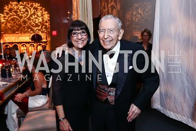 "Marie Mattson, Leonard Silverstein. Photo by Tony Powell. WNO Opening of ""Carmen."" Kennedy Center. September 19, 2015"