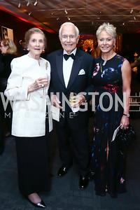 "Wilhelmina Holladay, Mandy Ourisman, Mary Ourisman. Photo by Tony Powell. WNO Opening of ""Carmen."" Kennedy Center. September 19, 2015"