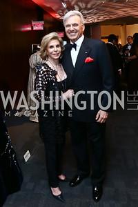 "Wilma and Stuart Bernstein. Photo by Tony Powell. WNO Opening of ""Carmen."" Kennedy Center. September 19, 2015"