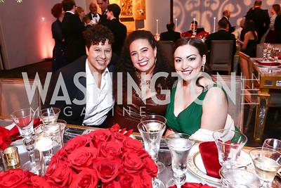 """Jackie Kravatz, Daryl Freedman, Raquel Gonzalez. Photo by Tony Powell. WNO Opening of """"Carmen."""" Kennedy Center. September 19, 2015"""