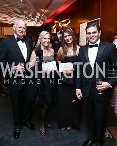 "Michael and Susan Pillsbury, Pilar Lozano and Colombian Amb. Juan Carlos Pinzon. Photo by Tony Powell. WNO Opening of ""Carmen."" Kennedy Center. September 19, 2015"