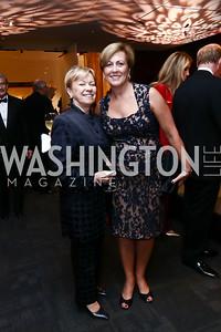 "Catherine French, Deborah Rutter. Photo by Tony Powell. WNO Opening of ""Carmen."" Kennedy Center. September 19, 2015"