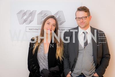 Nathalie Von Veh, Jeremy Flick, Washington Project on the Arts, Opening at Atlantic Plumbing, November 14, 2015, photo by Ben Droz.
