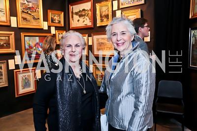 Jacqueline Badger Mars, Deborah Dunning. Photo by Tony Powell. 2015 Washington Winter Show. Katzen Center. January 8, 2015