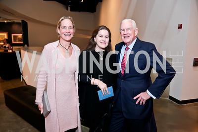 Katie Gewirz, Ashley Lemon Shaw and Show Founder Jim Lemon. Photo by Tony Powell. 2015 Washington Winter Show. Katzen Center. January 8, 2015