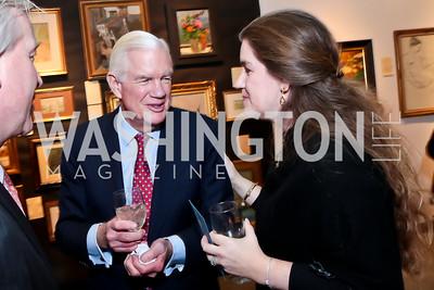 Show founder Jim Lemon and daughter, Ashley Lemon Shaw. Photo by Tony Powell. 2015 Washington Winter Show. Katzen Center. January 8, 2015
