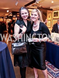 Virginia Hart, Amanda Stifel. Photo by Tony Powell. 2015 Washington Winter Show. Katzen Center. January 8, 2015