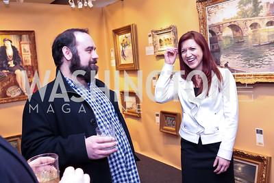 Joe Navatto, Kristi-Anne Caisse. Photo by Tony Powell. 2015 Washington Winter Show. Katzen Center. January 8, 2015