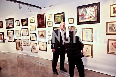 John Copenhaver, Lynda Mulhauser. Photo by Tony Powell. 2015 Washington Winter Show. Katzen Center. January 8, 2015