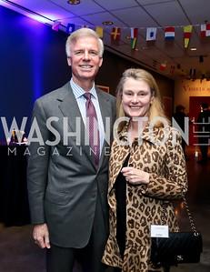 Fred and Genevieve Ryan. Photo by Tony Powell. 2015 Washington Winter Show. Katzen Center. January 8, 2015