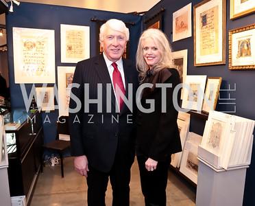 Michael and Susan Harreld. Photo by Tony Powell. 2015 Washington Winter Show. Katzen Center. January 8, 2015