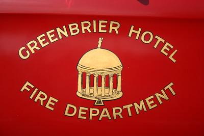 Greenbrier Hotel Fire Department.