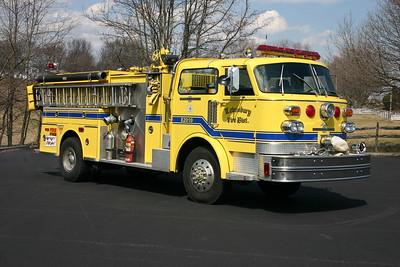 Lewisburg, West Virginia Engine 2010 - 1980 American LaFrance 1500/750 serial number CT-6702