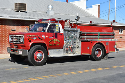 Petersburg, WV - Grant County Pumper 93 - 1988 GMC 7000/Grumman FC750  750/750 with s/n 18078