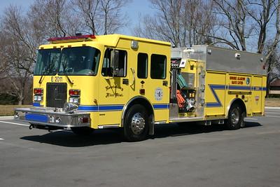 Lewisburg, WV - Engine 2011 - 2003 Spartan Advantage FF/Smeal 1500/1000/50  serial number 300380