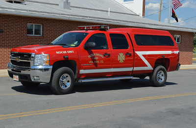 Petersburg, West Virginia Rescue 491 is this 2008 Chevrolet 3500.  It is used for a variety of purposes, including first responder.