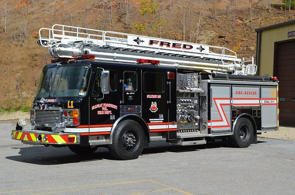 West Virginia (miscellaneous) Fire Apparatus