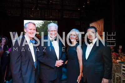 Jerry Carlson, Jim Moran, Anne Carlson, Dan D'Aniello
