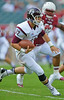 PHILADELPHIA - SEPTEMBER 14: Fordham quarterback Michael Nebrich runs with the ball September 14, 2013 in Philadelphia.